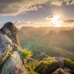 Foto Sonnenaufgang in den Bergen