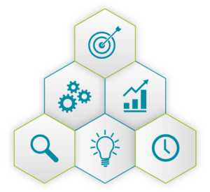 Grafik visualisiert die vielfältigen Anwendungsfällen für Interimsmanagement im Healthcare Business